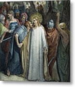 Dor�: Betrayal Of Christ Metal Print