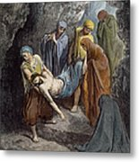 Burial Of Jesus Metal Print