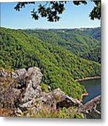 Dordogne Valley Metal Print