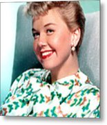 Doris Day, Warner Brothers, 1950s Metal Print