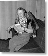 Dorothy Canfield Fisher Metal Print