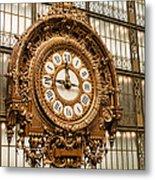 Dorsay Museum Paris France Metal Print