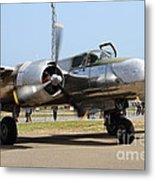 Douglas A26b Military Aircraft 7d15748 Metal Print by Wingsdomain Art and Photography