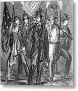 Douglas: Election Of 1860 Metal Print