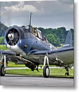 Douglas Sbd-5 Dauntless Metal Print