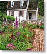 Down A Garden Path Metal Print