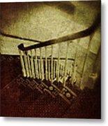 Down A Staircase Metal Print