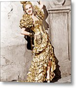 Down Argentine Way, Betty Grable, 1940 Metal Print