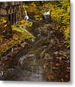 Down By The Old Mill Stream Metal Print