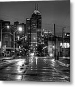 Down Mass. Ave. Metal Print