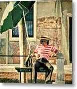 Down Time Metal Print by Marion Galt