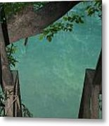 Down To The Creek Metal Print