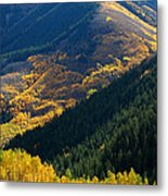 Downhill Flow Metal Print