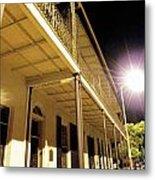 Downtown Balcony Baton Rouge Metal Print