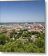 Downtown Birmingham Alabama On A Clear Day Metal Print