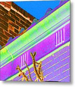 Downtown Cholla II Metal Print