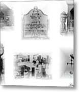 Downtown Elkton Metal Print