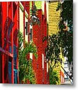Downtown Ft Myers Metal Print