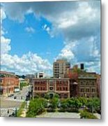 Downtown Montgomery Metal Print