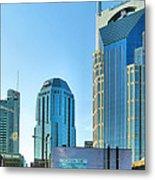 Downtown Nashville II Metal Print by Steven Ainsworth