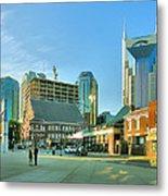 Downtown Nashville IIi Metal Print