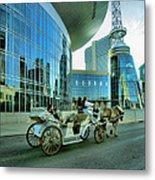Downtown Nashville Iv Metal Print by Steven Ainsworth