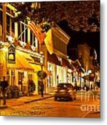 Downtown Newport Metal Print