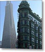 Downtown San Francisco 2 Metal Print