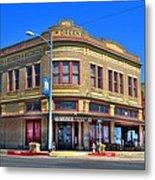 Downtown Shiner Texas Metal Print