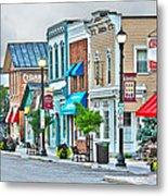 Downtown Waterville Metal Print