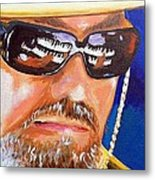 Dr John Metal Print by Terry J Marks Sr