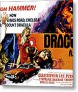 Dracula A.d. 1972, Stephanie Beacham Metal Print