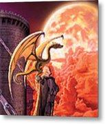 Dragon Lord Metal Print