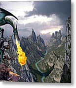 Dragon Valley Metal Print