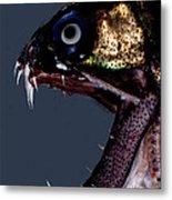 Dragonfish Mouth Metal Print