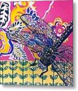 Dragonfly Metal Print by Amy Reisland-Speer