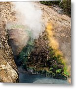 Dragon's Mouth Metal Print
