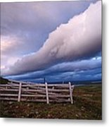 Dramatic Cloud Formations Metal Print