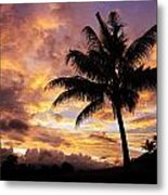 Dramatic Fiji Sunrise Metal Print