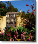Dream Cottage In Malibu Metal Print
