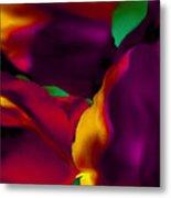 Dream Gardens - Tulip Petals - Shimmering Brights Metal Print