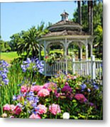 Dream Gazebo Metal Print