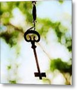 Dream Key Metal Print