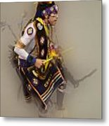 Pow Wow Dream Time Metal Print