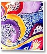 Dreaming In Watercolors Metal Print