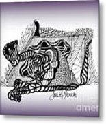 Dreams Of Metamorphosis Metal Print