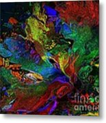 Dreamscape Abstract Number Five Metal Print by Doris Wood