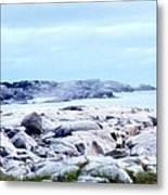 Dreamy Coastal Scene Metal Print