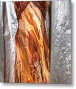 Dress Doll Metal Print