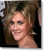 Drew Barrymore At Arrivals For 16th Metal Print